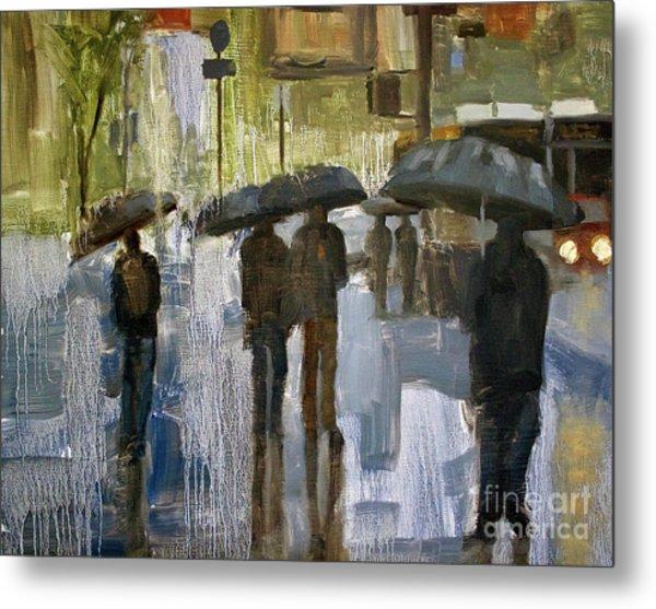 The Rain Came Metal Print