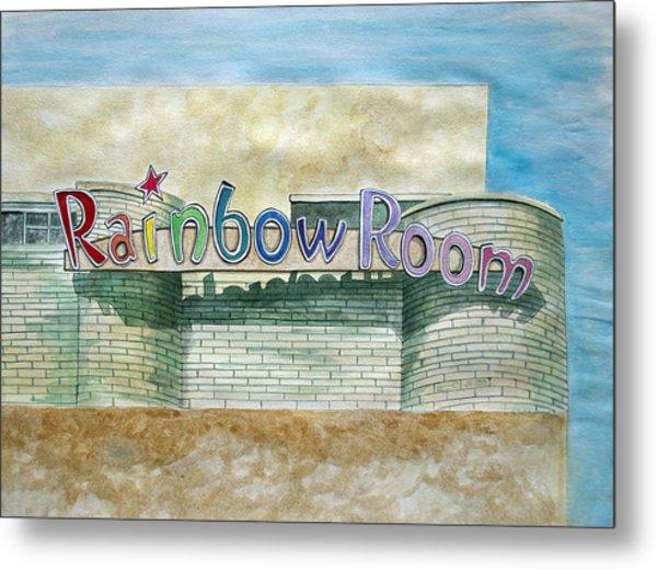 The Rainbow Room Metal Print