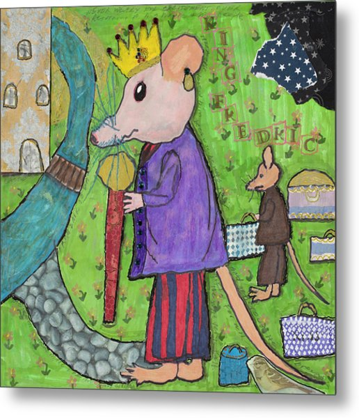 The Rat King Metal Print