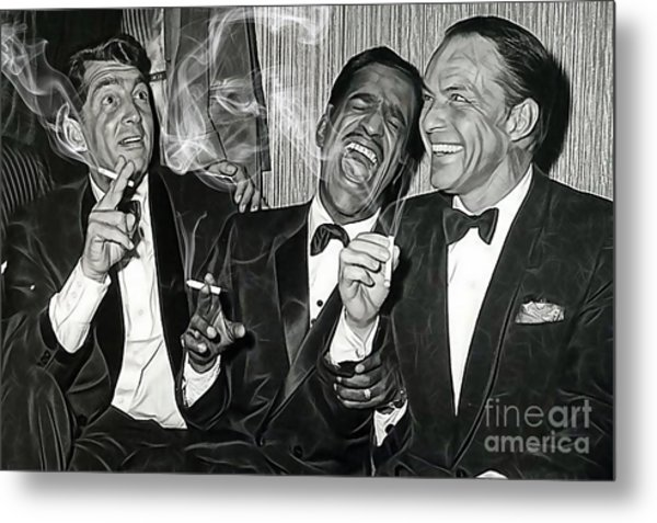 The Rat Pack Collection Metal Print