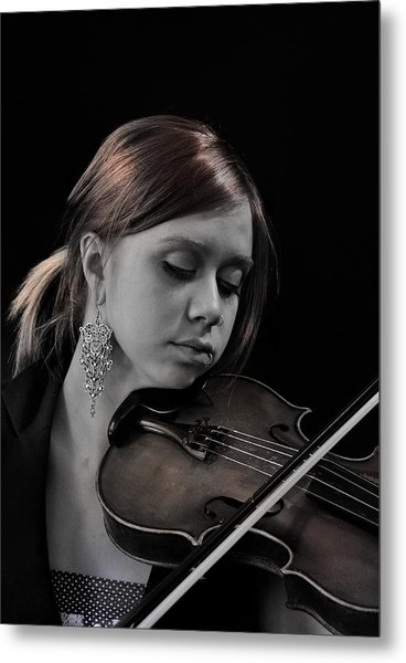 The Recital Metal Print