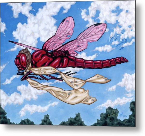 The Red Baron Metal Print