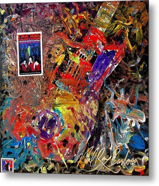 The Red Paintings Metal Print