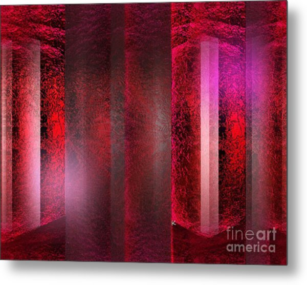 The Red Room Metal Print