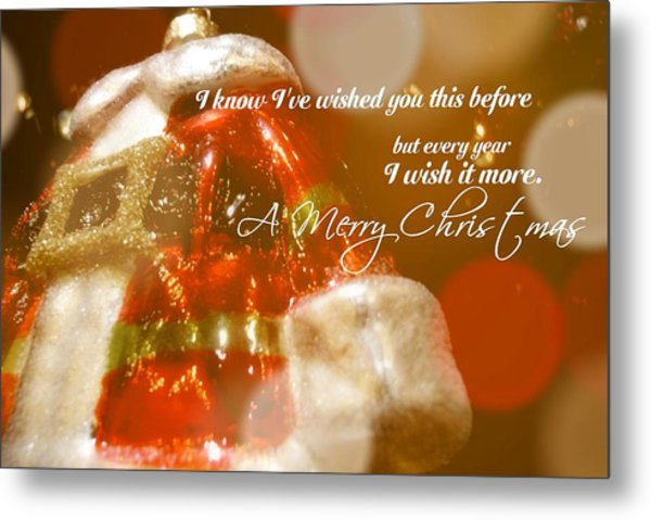 The Red Suit Quote Metal Print by JAMART Photography