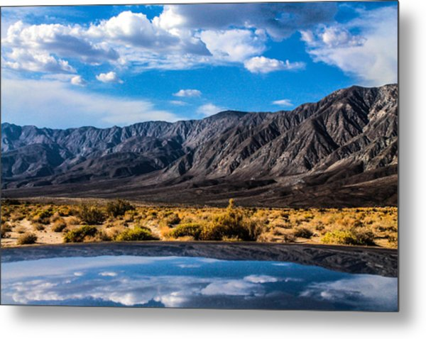 The Reflection On The Roof Metal Print
