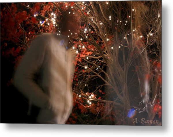 Metal Print featuring the photograph The Remains Of A Magical Memory by Angelique Bowman