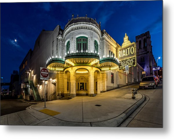 The Rialto Theater - Historic Landmark Metal Print