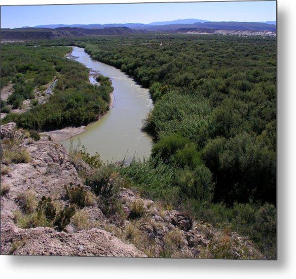 The Rio Grande River Metal Print