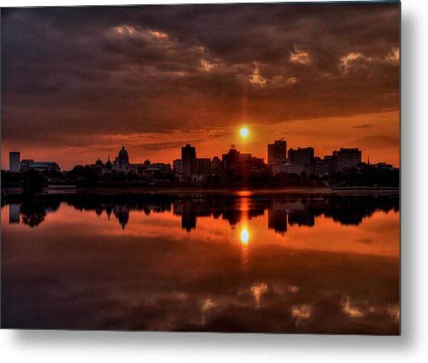 The Rising Of A New Day Metal Print