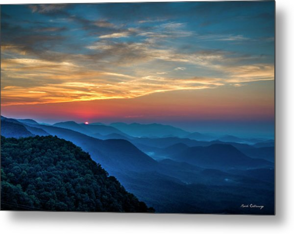 The Rising Sun Pretty Place Chapel Greenville S C Great Smoky Mountain Art Metal Print