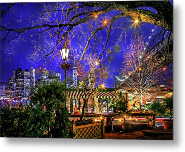 The River Cafe Metal Print