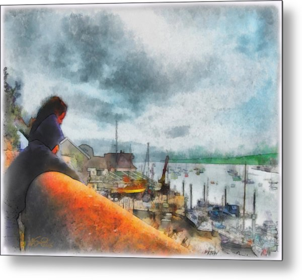 The River Exe Metal Print