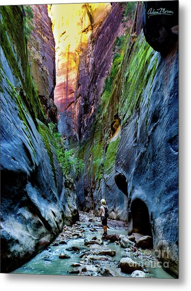 The Riverbend Metal Print