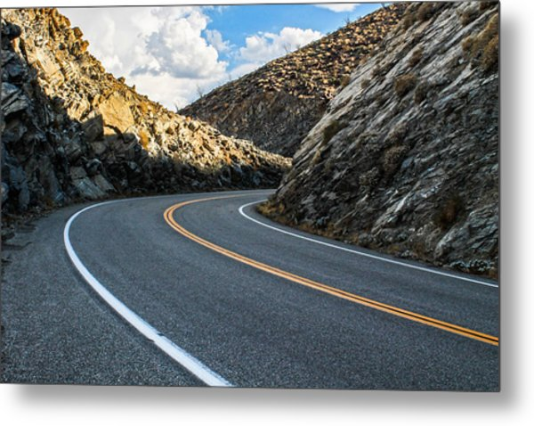 The Road Metal Print