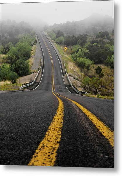 The Road Goes On Forever And The Party Never Ends Metal Print