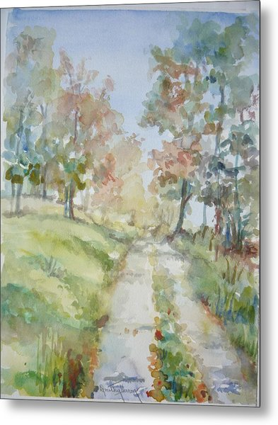 The Road Home Metal Print by Dorothy Herron