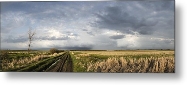 The Road Is Never Easy Metal Print
