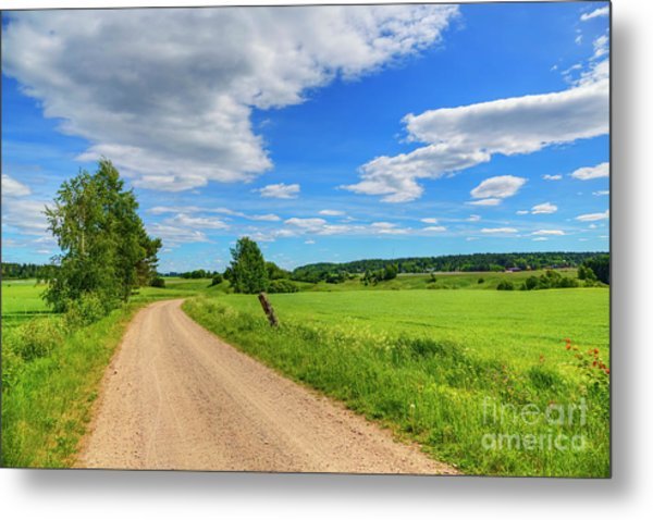 The Road Leads To... Metal Print