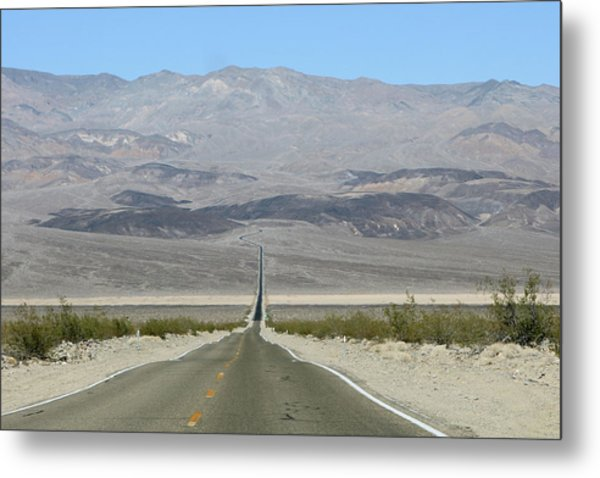 Metal Print featuring the photograph The Road Less Traveled by Brandy Little