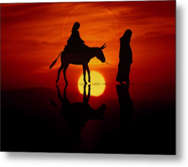 The Road To Bethlehem Metal Print