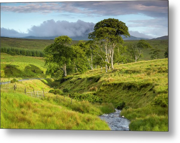 The Road To Carndonagh Metal Print