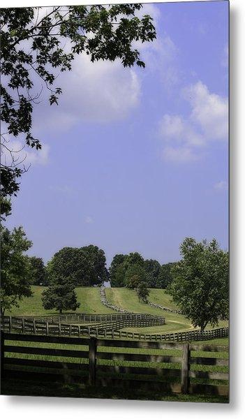 The Road To Lynchburg From Appomattox Virginia Metal Print
