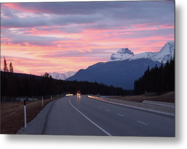 The Road Trip Metal Print
