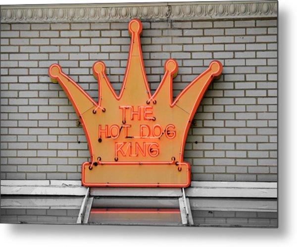 The Roanoke Weiner Stand 1 Metal Print