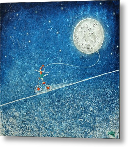 The Robbery Of The Moon Metal Print