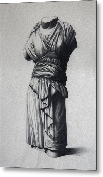 The Robe Metal Print