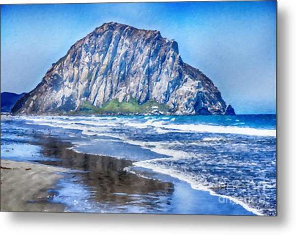 The Rock At Morro Bay Large Canvas Art, Canvas Print, Large Art, Large Wall Decor, Home Decor, Photo Metal Print