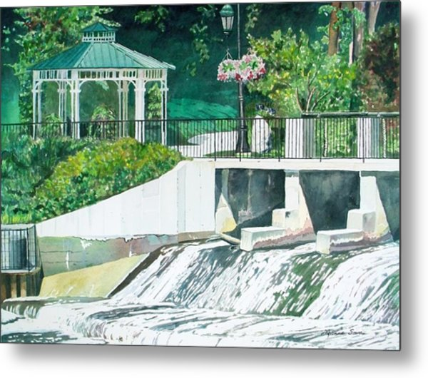 The Rockford Dam Metal Print