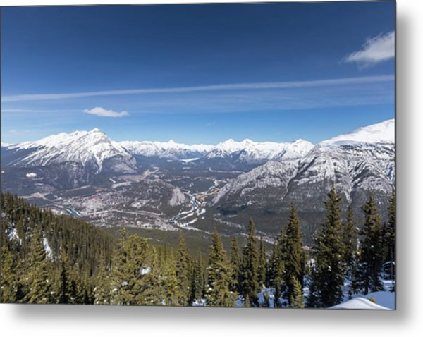 The Rockies Landscape Metal Print