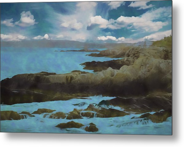The Rocky Maine Coast. Metal Print