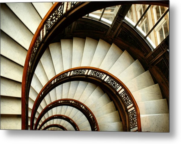 The Rookery Spiral Staircase Metal Print