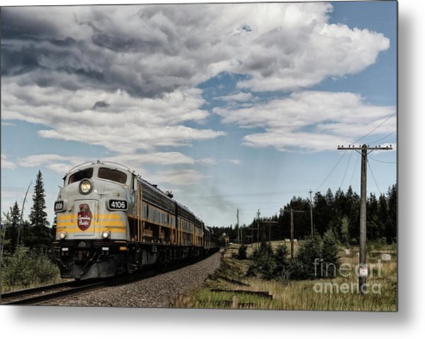 The Royal Canadian Pacific  Metal Print