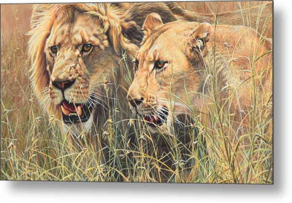 The Royal Couple II Metal Print