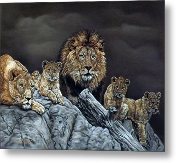 The Royal Family Metal Print