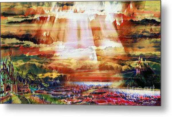 The Royal Isle Metal Print