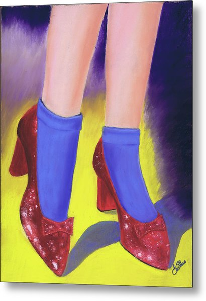 The Ruby Slippers Metal Print