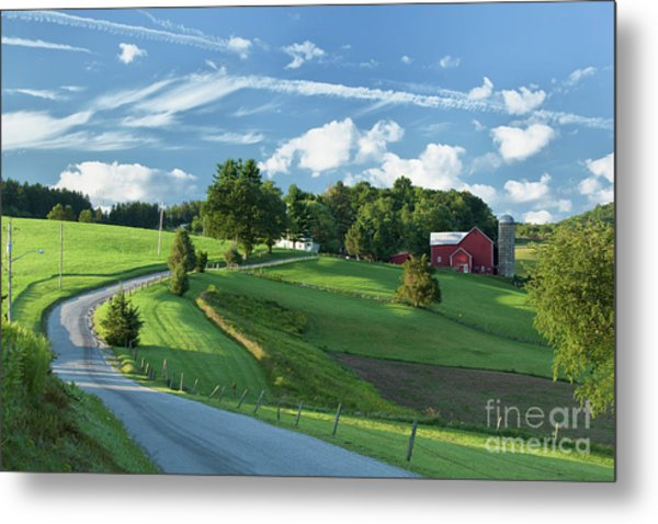 The Rudy Farm Metal Print