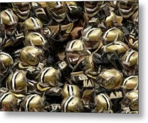 The Saints Metal Print by Carrie OBrien Sibley