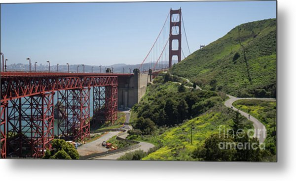 The San Francisco Golden Gate Bridge Dsc6139long Metal Print
