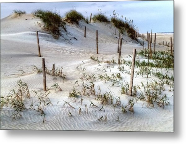 The Sands Of Obx Hdr II Metal Print