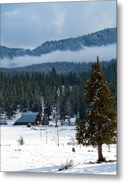 The Satica Ranch Metal Print by The Couso Collection