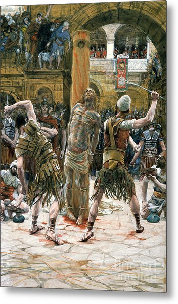 The Scourging Metal Print
