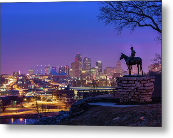 The Scout Metal Print