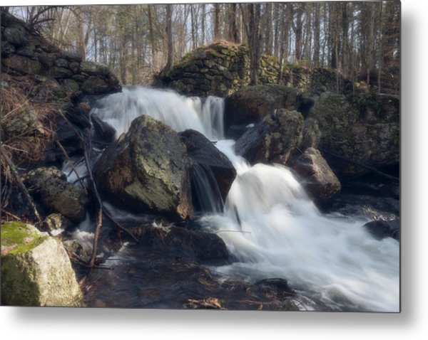 The Secret Waterfall 1 Metal Print