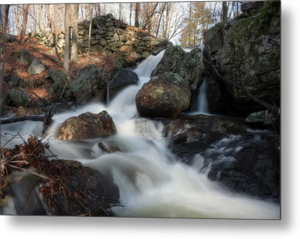 The Secret Waterfall 2 Metal Print